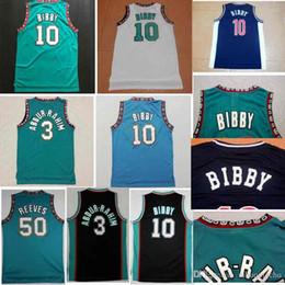 Descuento 1998 ~ 2000 # 10 Mike Bibby Jersey, Verde Blanco Rev 30 Jerseys corriendo, la mejor calidad Deportes Camisas Para Hombres Tamaño S ~ XXXL desde camiseta para correr verde fabricantes