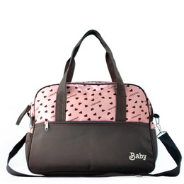 Wholesale Insular New Style Convenient Diaper Bags Baby Designer Bags Nylon Mommy Bags