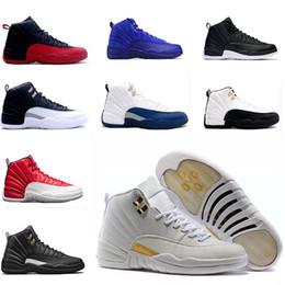 Wholesale 2017 air retro chaussures de basket ball hommes ovo blanc noir grippe jeu laine Nouvel An chinois GS Barons bleu français TAXI baskets sports