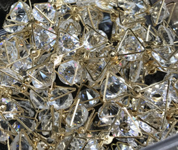 DIY fashion style of Rhine golden stone band accessories bow about 25mm size 50pcs free shipping