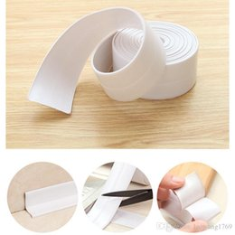 Wholesale 1 ROLL Kitchen Bathroom Wall Sealing Tape Waterproof Mold Proof Adhesive Tape About meter KT0050