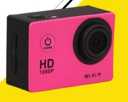 Wholesale Selling sports DV Mini P Waterproof Sports Camera with WIFI HD camera motion adventure camera Sports Action Video Cameras
