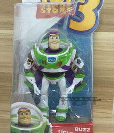 Wholesale 1PCS Toy Story Buzz Lightyear Animated Action Figure Toys Doll Gift CM