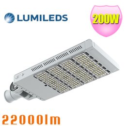 Super Brightness 200W LED Street Light IP65 Daylight Outdoor Parking Lot High Way lighting AC100~277V Street Lamp