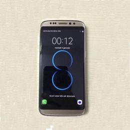 Goofón libre S8 de DHL 5.5 pulgadas Teléfonos Móviles MTK6580 3G de la pulgada 1GB / 8GB verdadero Smartphone androide show 64GB falso 4G lte PK S7 borde i7 Nota 7 desde teléfono celular 3g wcdma fabricantes
