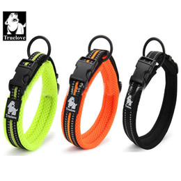 Wholesale High Quality M Reflective Dog Collar Adjustable Pet Cat Dog Collar Outdoor Trainning Soft Air Mesh Padded Brand Pet Product XXS XL