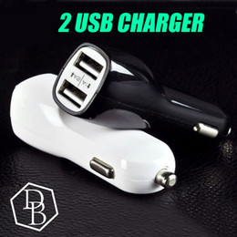 Duckbill Car Charger 2 PortS Cigarette 2.1A Chargers Micro Dual USB Adapter Flash Nipple Dual USB Port for Phone & Pad