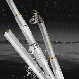 Wholesale Saltwater Telescopic Super Hard High Carbon Content Fishing Rod Light M Spinning Pole
