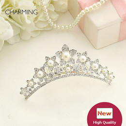 Crowns and tiaras Kids beauty contest And wedding hair tiara Kids dresses for girls Best flower girl Product supplier china