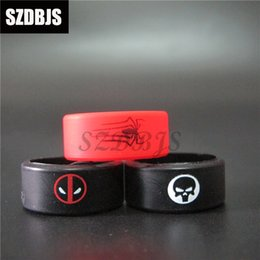 Multi-color Anti-slip Ring Silicon Finger Ring Vape Band Covering Rubber Ring For Mechanical Mod