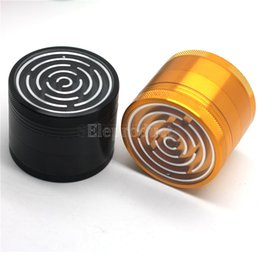 Wholesale Maze Game Grinders Aluminium Alloy mm Diameter Parts Metal Grinders Herb Grinders Herb Crushers vs sharpstone grinders