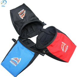 2016 красный восхождение Оптово-синий черный красный цвет Скалолазание Chalk Bag противоскользящие Альпинизма Порошки ассорти сумка Rock предотвращает скользкое порошок мешок красный восхождение для продажи