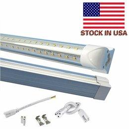 Wholesale box FOOT LED Lights V Shape T8 Integration high brightness ft ft ft ft ft ft UL certification on stock