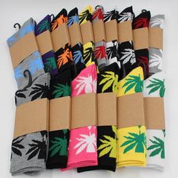 2017 choix de sports 2017 Wholesale Crew Socks Skateboard Hiphop Une variété de chaussettes en couleur Leaf Maple Leaves Meilleures chaussettes de sport en coton est votre bon choix choix de sports sur la vente