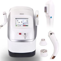 Dual Handles E-light IPL RF Hair Removal Skin Rejuvenation Wrinkles Removal Freckles Removal Machine
