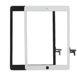 100% New High Quality Touch Screen Glass Panel Digitizer for iPad Air iPad 5 Black and White