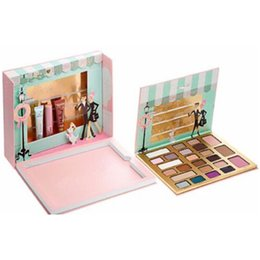 Wholesale Hotest hizo frente a la sombra de ojo del maquillaje también de alta calidad El envío libre de la edición limitada de la Navidad de Chocolatier de dora