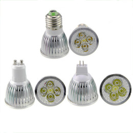High Power Cree Led Light Bulbs E27 B22 MR16 9W 12W 15W Dimmable E14 GU5.3 GU10 Led Spot lights led downlight lamps