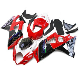 Red Black White Fairings For Suzuki GSXR1000 GSX-R 1000 K7 07 08 Year 2007 2008 Injection ABS Motorbike Fairing Kit Carenes New