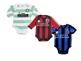 Wholesale Bebe soccer cotton suit bebe romper baby sport clothes for M baby romper