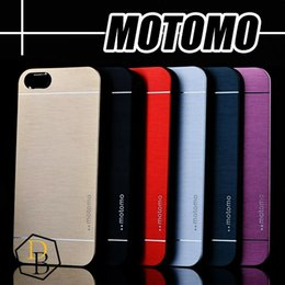 For Iphone 7 S6 edge plus MOTOMO cases Ultra Thin Metal Aluminium Alloy Hard PC Case For Iphone 6 Plus Iphone 5s
