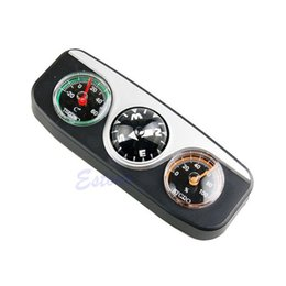 Wholesale in1 Guide Ball Car Boat Vehicles Auto Navigation Compass Thermometer Hygrometer