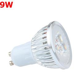 Wholesale best quality CREE Led Lamp3x3W9W Dimmable GU10 MR16 E27 E14 GU5 B22 Led spot Light bulbs Spotlight bulb downlight lighting