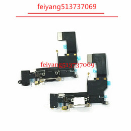 10pcs Original Charger Charging Port USB Dock Connector Headphone Audio Jack Flex Cable For iPhone SE
