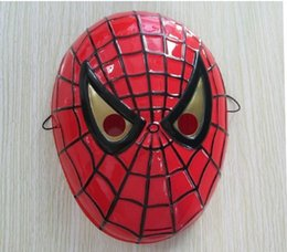 2016 New Sale Pvc Wedding Latex Mask Spider-man Halloween Minions Masks The Hulk Captain America Masquerad Theater Prop Novelty Oy Kids Boys