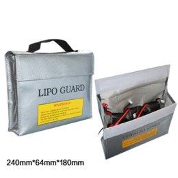 Promotion sacs ignifuges 240 * 64 * 180MM LiPo Li-Po Batterie Fireproof Sûr Coffre-fort Sûre childred jouets outils d'apprentissage gros outil jouet