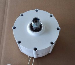 800w 24v 48v one-shaft low rpm permanent magnet alternator