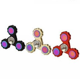 Wholesale Starss EDC Tri Bar Hand Spinner Fidget Toy Help With Concentration Relaxation Other Powerful Benefits Stable When Spinning CCA5698