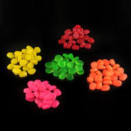 Poissons de silicone pour la pêche en Ligne-500pcs Fishing Lure Soft Baits 1cm 0.33g 5 kits de simulation de couleur de simulation Lingettes en silicone pêche artificielle Pêche Carp Accessoires de pêche