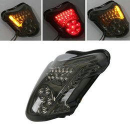 LED Smoke Tail light Turn Signals For SUZUKI HAYABUSA GSXR1300 2008-2014 2009 2010 2011 2012 2013