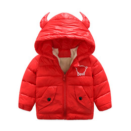 2017 new authentic autumn and winter horns coat three-color solid color down jacket plus cotton wool jacket