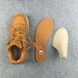Wholesale New air retro Premium Ginger s Wheat yellow MEN basketball shoes sports sneakers best quality size