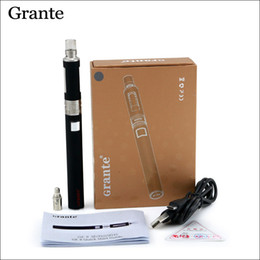 Original Grante GE II evod Starter Kit with GE II Atomizer Top Filling Double Airflow GE II Battery 900mah 4 color BVC Coils