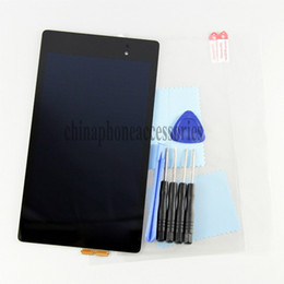 Wholesale New Original Full LCD Display Touch Screen Digitizer Assembly repair part For Asus Google Nexus FHD nd Gen tools