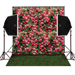 5X7FT blossoms flowers garden scenic for wedding photo background camera fotografica digital cloth props studio photography backdrops vinyl