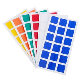 Dayan juguete en venta-Magic Cubo PVC Pegatinas para Dayan GuHong 3x3x3 57mm Magic Cube Puzzle Juguetes - 2 Set