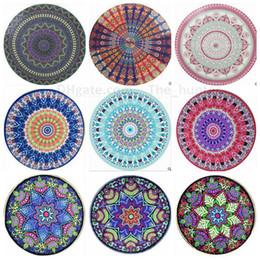 Wholesale Indian Mandala Tapestry Boho Bohemian Hippie Bikini Beach Cover Ups Beach Towel Beachwear Beach Sarongs Shawl Yoga Mat Table Cover B1493