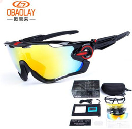 2017 Polarized Brand Cycling Sunglasses Racing Sport Cycling Glasses Mountain Bike Goggles Interchangeable 3 Lens Jawbreaker Cycling Eyewear