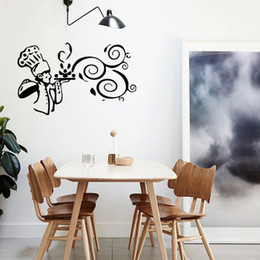 New Style Kitchen Cook Food Quote Wall Stickers Funny Art Dining Room Removable Decals Decorate Diy