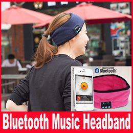 Bluetooth Music Phone Sport Sweatband Sweat Band For Cycling Running Riding Yoga Headband HeadBand Hair Band VS Bluetooth Hat
