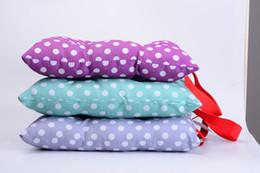 "Polka Dots Stuffed Chair Cushion Seat Back Square PP Cotton Insert Filling Pad for Kids Children Boy Girl, 11""x11""(27x27cm)"