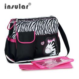 Wholesale Fashion Baby Diaper Bags Stuff Organizer Stroller Nappy Changing Shoulder Mummy Waterproof Brand Maternal Carter Bags C1018