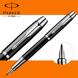 6 Colors Full Metal Parker IM Fountain Pen Business Parker fountain Pen as Luxury Gift pen Office Writing Supplies