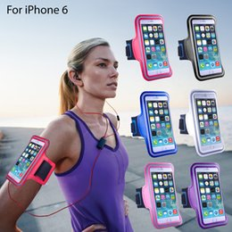 Universal Workout Running Arm Bands Phone Holder Case Cover For Iphone 7 plus 6S 5SE Samsung Galaxy Note 3 4 5 S4 S5 S6 S7 Edge Waterproof