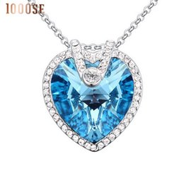 Wholesale 2017 new Authentic jewelry color using SWAROVSKI Elements Crystal Necklace gorgeous eternal high grade Pendant sale