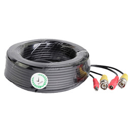 90FT 30M BNC Power and Video Cable For CCTV Camera DVR